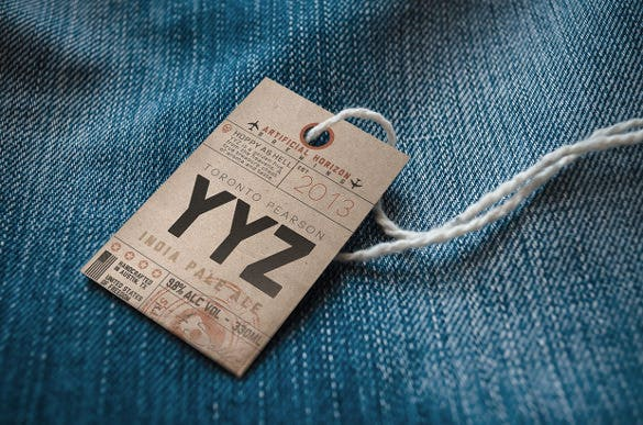 vintage luggage tags for free download1