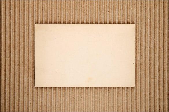old blank postcard