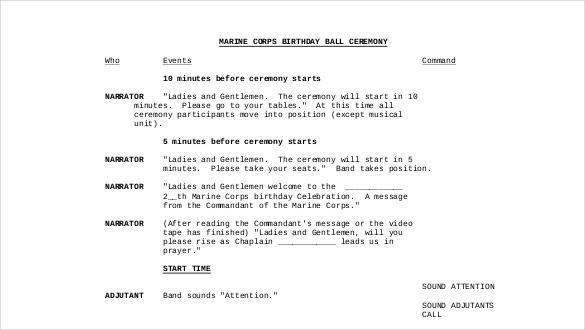 birthday itinerary template  u2013 10  word  pdf documents