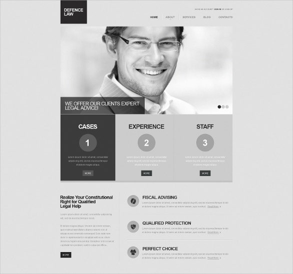 defence law legal joomla template