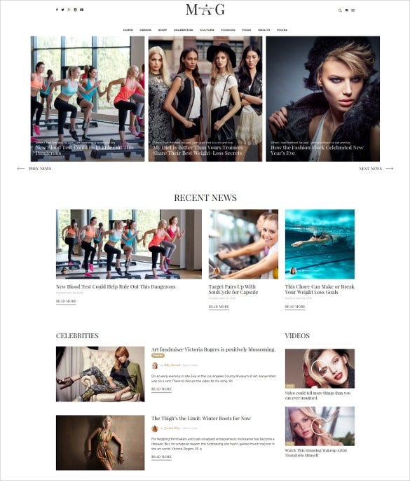 news wordpress online magazine template