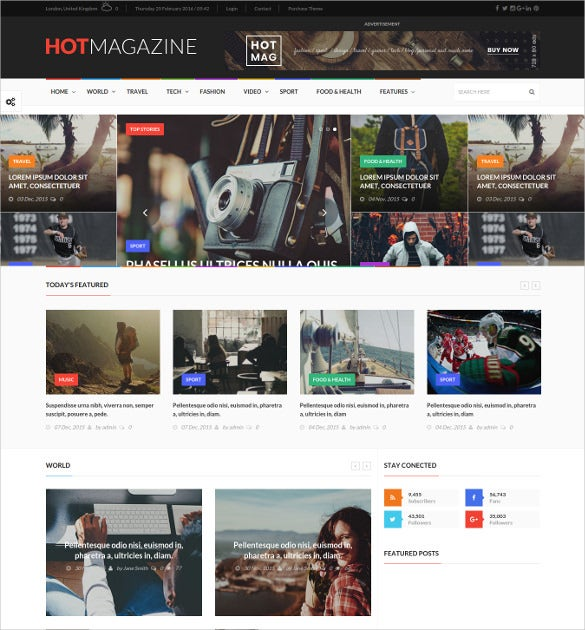 premium news magazine wordpress theme