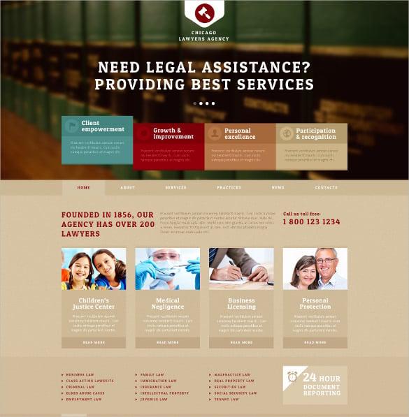 law legal agency joomla template