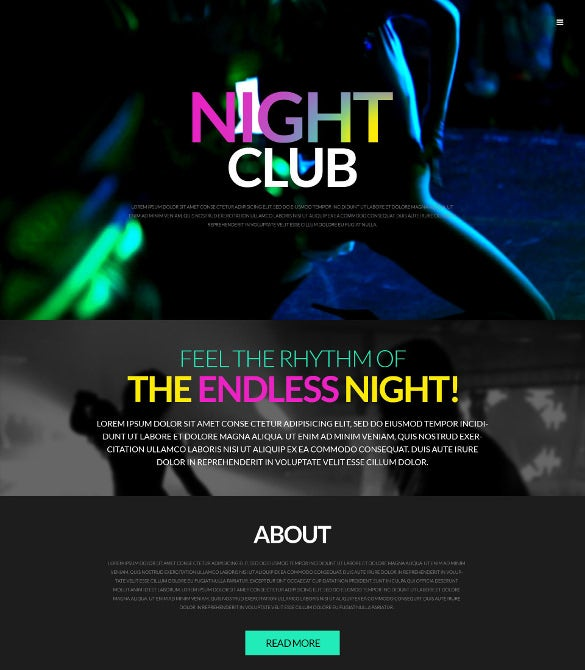 party event wordpress theme