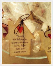 Housewarming Gift Favor Tags Template