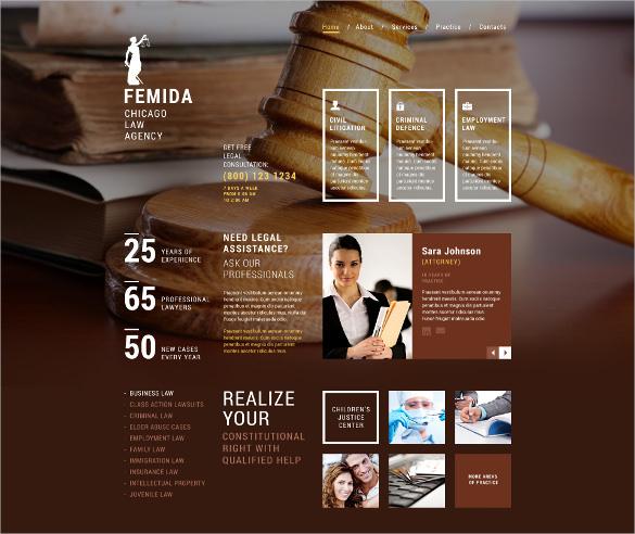 law legal firm responsive website joomlatemplate
