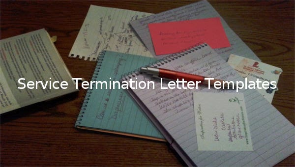 service termination letter templates