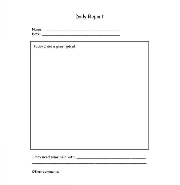 how to write daily report sample We reveal how to write a social media report, whether you want to present in-depth research, a campaign-specific report, or a regular round-up of metrics.