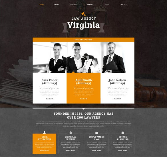 law legal firm drupal template