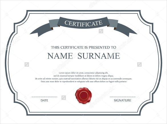 Vintage Marriage Certificate Design Template In Psd Word: 36+ Blank Certificate Template