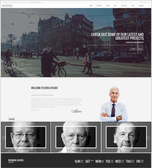 law legal one page multi page drupal theme