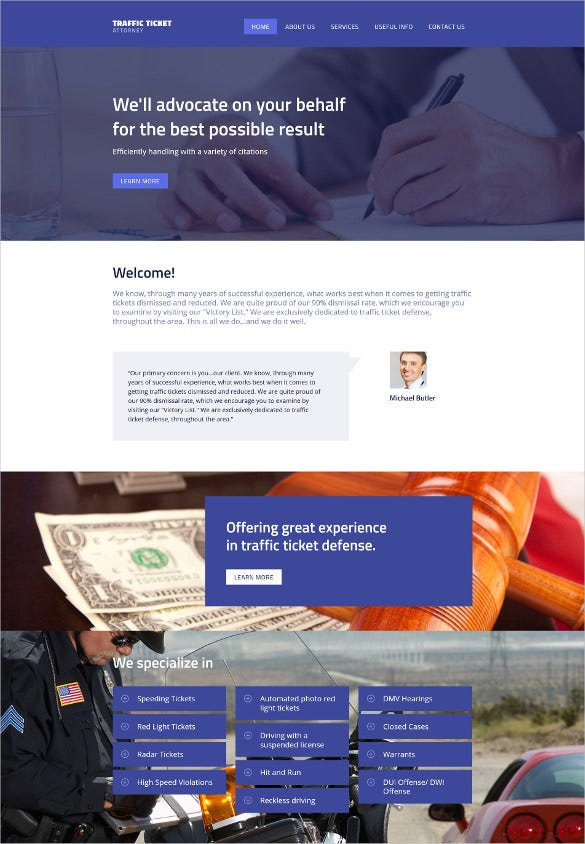 law legal website drupal template