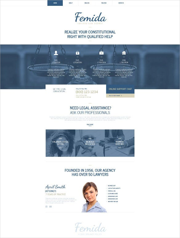 law legal firm moto cms html drupal template