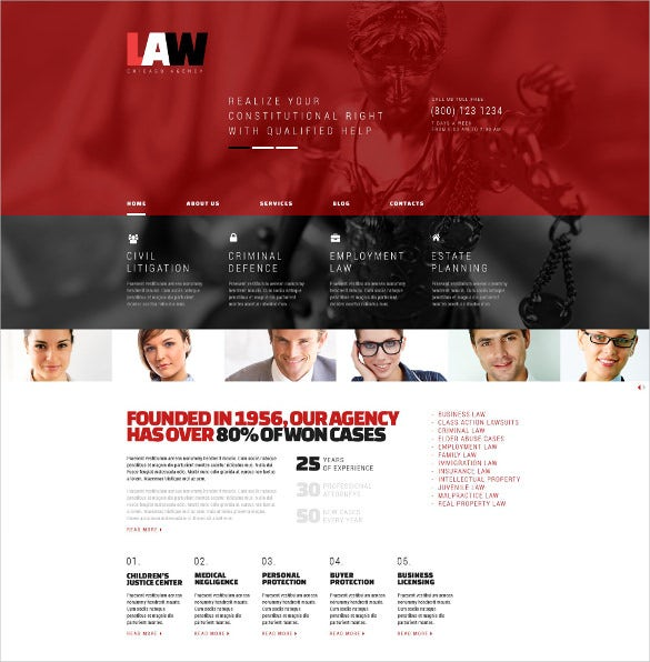 law legal wordpress drupla theme