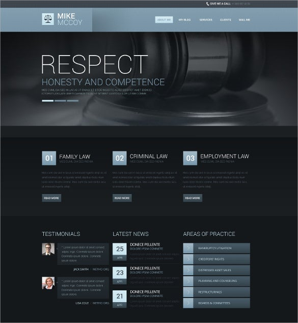 atmospheric law legal drupal template