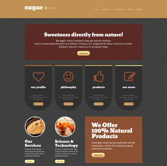 food store responsive marketing wordpress theme