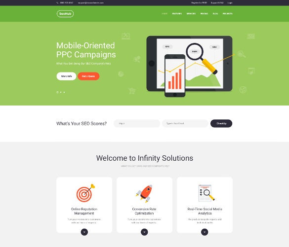 seohub marketing wordpress theme