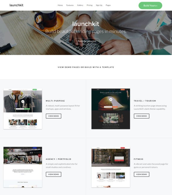 launchkit landing page marketing wordpress theme