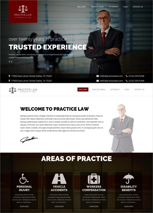 practice law legal wp theme