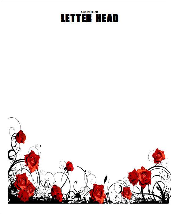 32  word letterhead templates