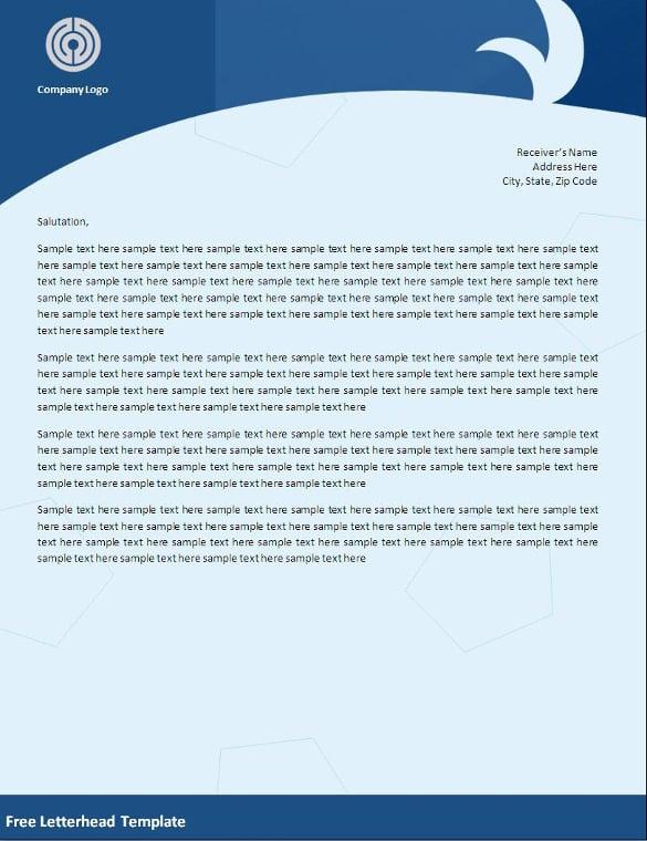 Business letterhead templates trattorialeondoro business letterhead templates spiritdancerdesigns Images