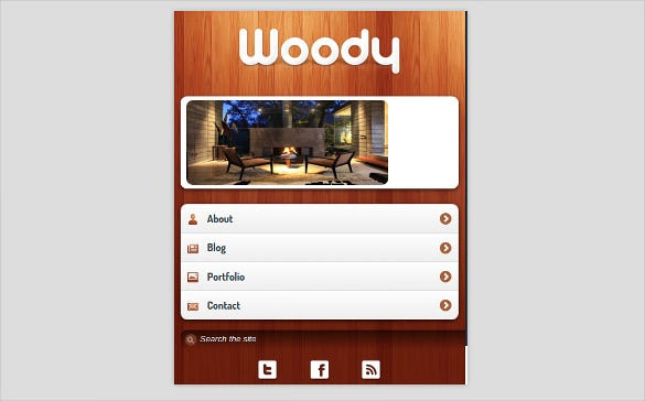 47+ Mobile HTML5 & CSS3 Website Themes & Templates | Free ...