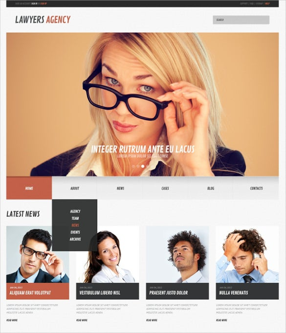 premium law legal responsive wordpress blog theme
