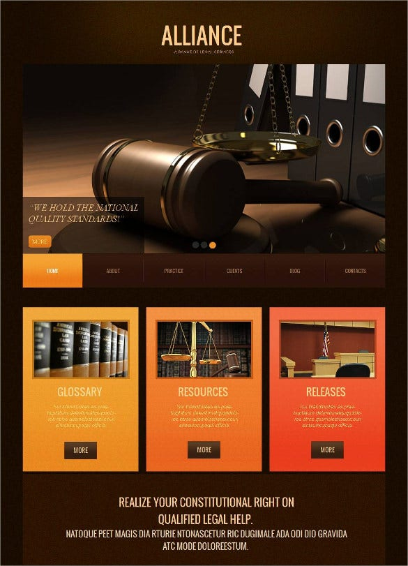law legal moto cms html blog template