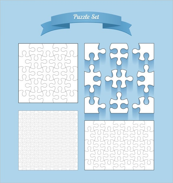 vector puzzle set