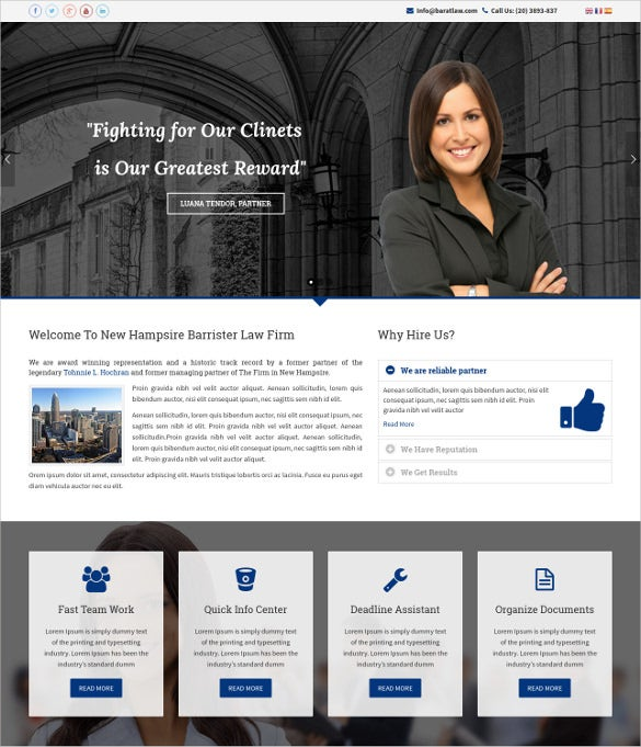 responsive law legal business joomla blog template