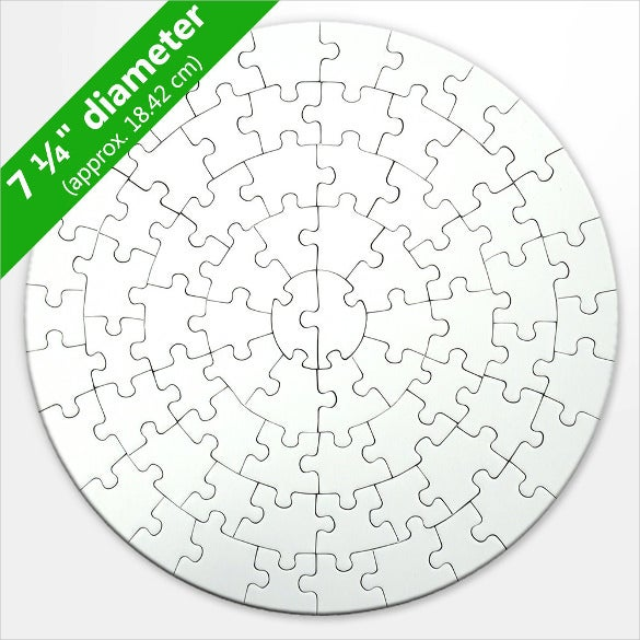 round blank puzzle