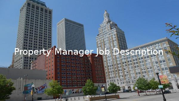 propertymanagerjobdescriptiontemplate
