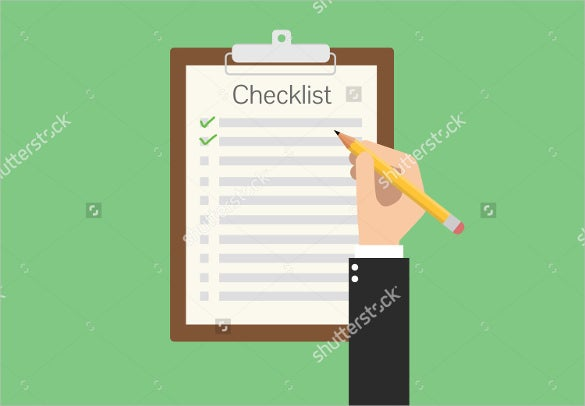 flat vector clipboard checklist to download