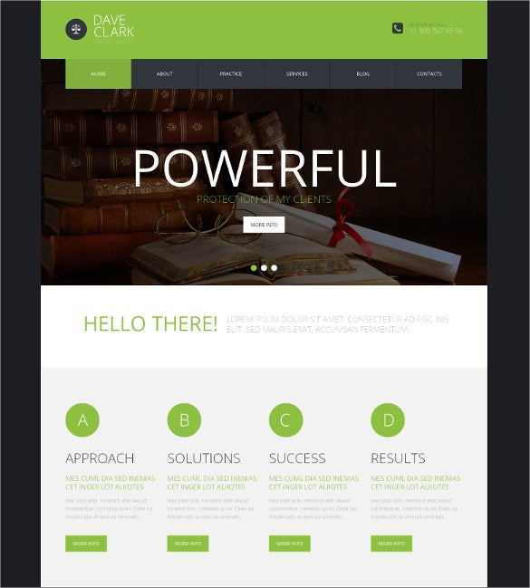 private law legal wordpress html5 theme