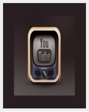 Vintage Youtbe Icon