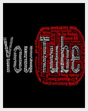 Elegant Youtube Logo Free