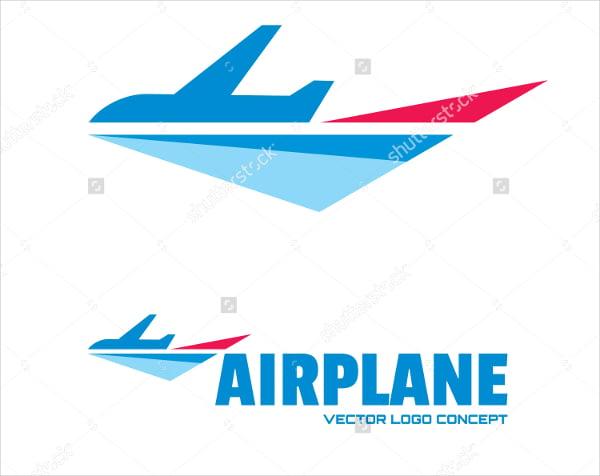 Minimal Classic Airline Logo