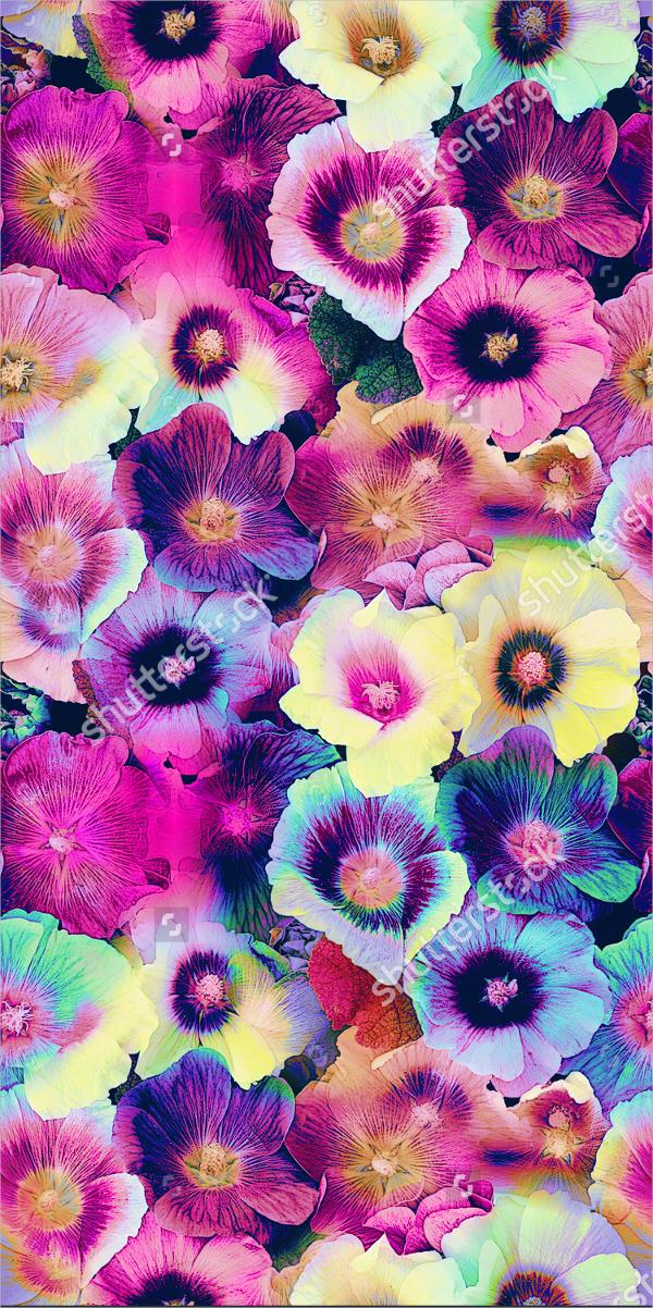 Multicolor Floral Pattern