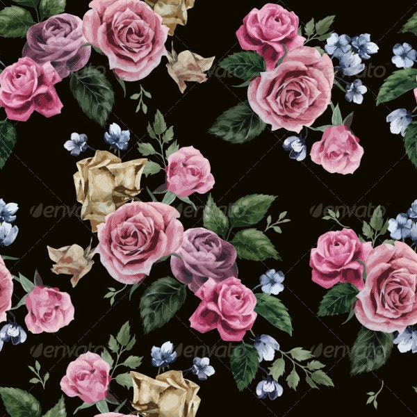 Abstarct Floral Pattern