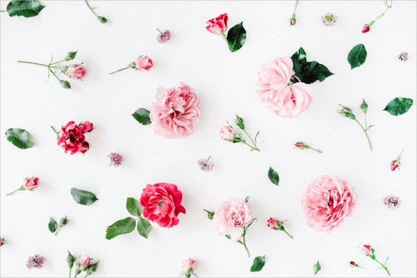 Roses Floral Pattern