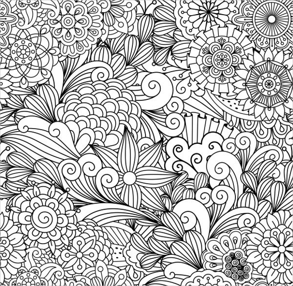 cute seamless floral pattern1
