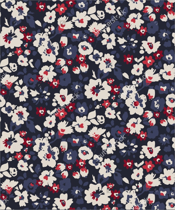 trendy seamless floral pattern1