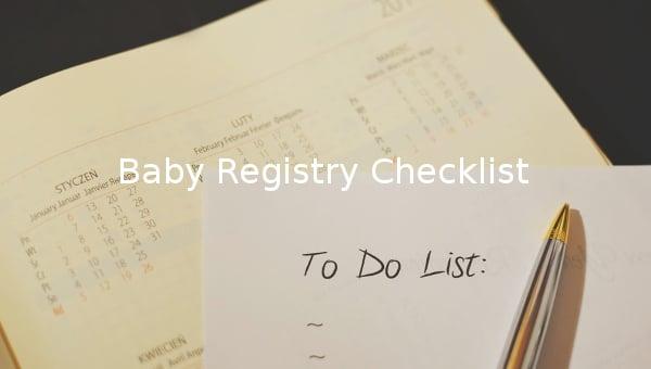 babyregistrychecklist