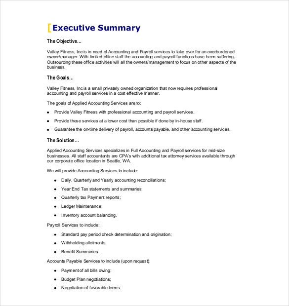 Business Proposal Template 31 Free Word PDF documents Download – Format of Business Proposal Letter