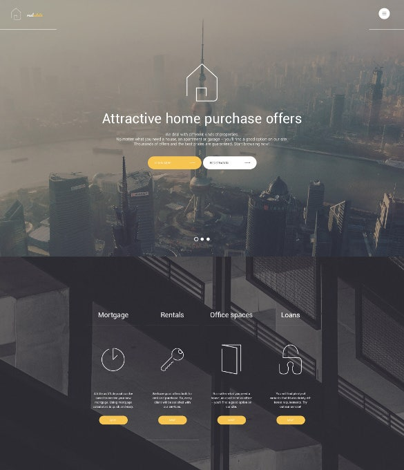 real estate wordpress website theme