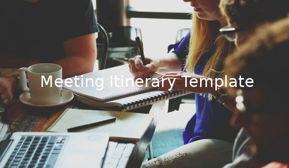 meetingitinerarytemplate