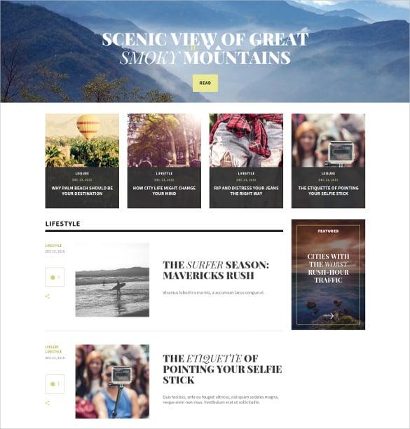 multipurpose wordpress magazine mobile website theme