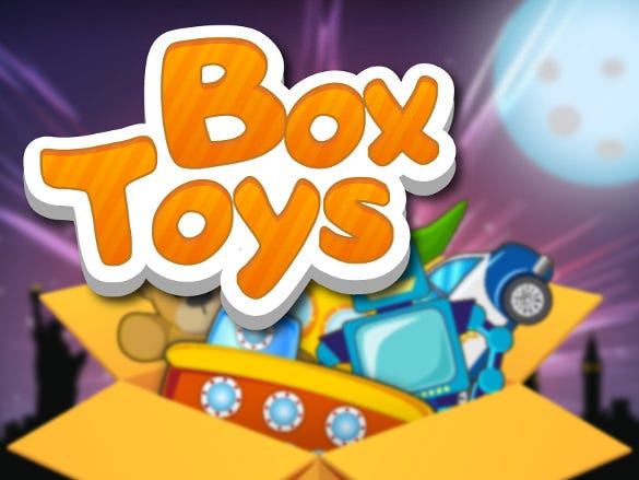 box toys graphics font