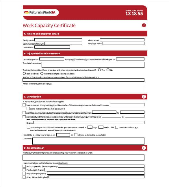 40+ Employment Certificates - PDF, DOC | Free & Premium
