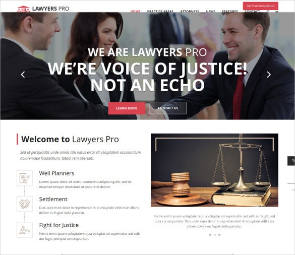 Legal PHP Themes